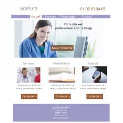 Création site web 5 pages osthéopathe