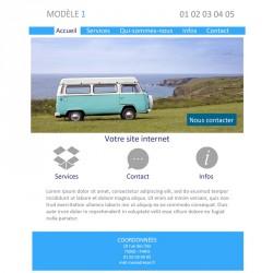 Création site web entreprise de services