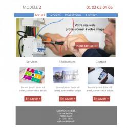 Création site web 5 pages électricien