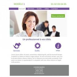 Création site web 5 pages courtier en assurance