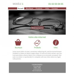 Création site web opticien