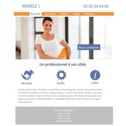 Création site web 5 pages coach sportif