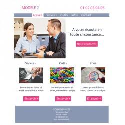 Création site web 5 pages prestataires de conseil