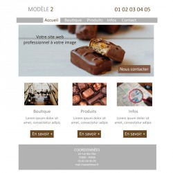 Création site web chocolatier