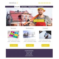Création site web artisan du bâtiment