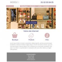 Création site web commerçant