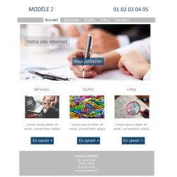 Création site web 5 pages avocat