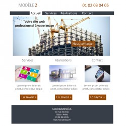 Création site web maître d'oeuvre