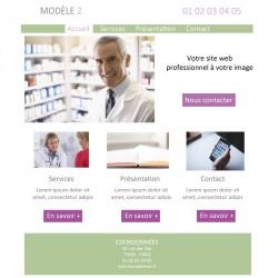 Création site web dermatologue