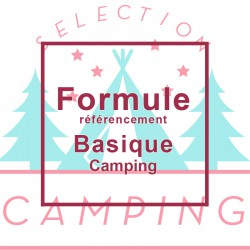 """Référencement Formule """"Basique"""" Camping"""