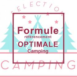 """Référencement Formule """"Optimale"""" Camping"""