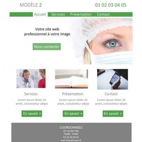 Création site web professionnel de santé