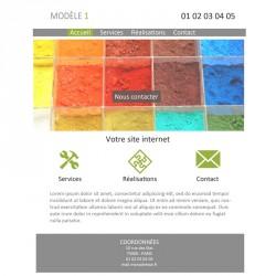 Création site web artisan peintre