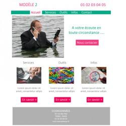 Création site web 5 pages indépendant / professions libérales