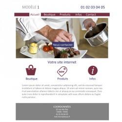 Création site web boulangerie / pâtisserie