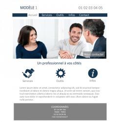 Création site web 5 pages consultant indépendant