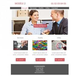 Création site web 5 pages expert comptable