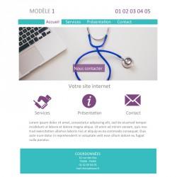 Création site web médecin généraliste