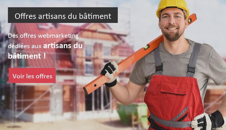 Des offres spéciales pour les artisans du bâtiment