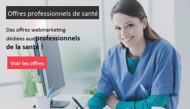 Des offres spéciales pour les professionnels de la santé
